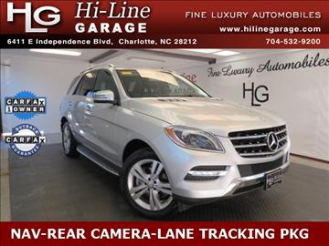 Mercedes benz m class for sale in charlotte nc for Mercedes benz for sale charlotte nc