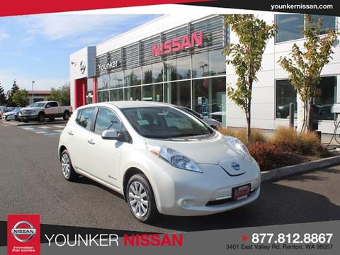 2017 Nissan LEAF for sale in Renton, WA