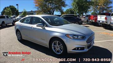 2016 Ford Fusion Hybrid for sale in Littleton, CO