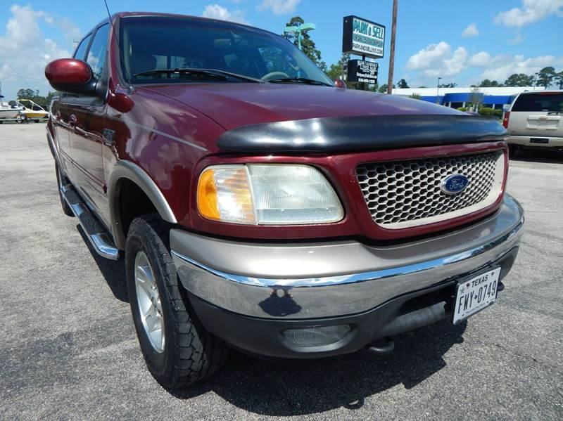 2003 ford f 150 4dr supercrew lariat 4wd styleside sb in conroe tx park and sell. Black Bedroom Furniture Sets. Home Design Ideas