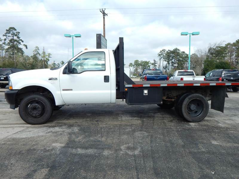 2003 ford f 450 super duty flatbed in conroe tx park and. Black Bedroom Furniture Sets. Home Design Ideas