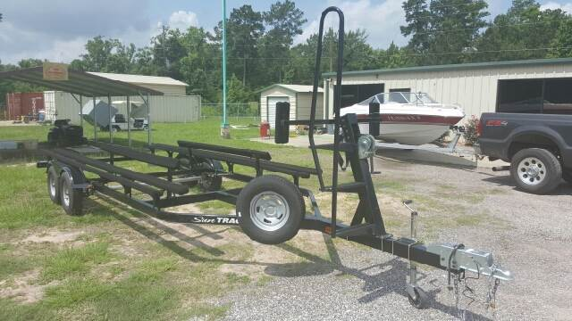 "2014 Trailstar 22"" Pontoon Trailer"