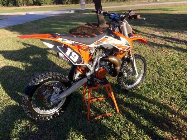 2015 ktm 85 sxs dirt bike in conroe tx park and sell. Black Bedroom Furniture Sets. Home Design Ideas