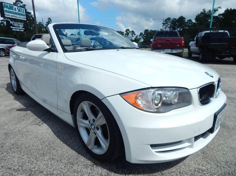 2008 bmw 1 series 128i 2dr convertible in conroe tx park and sell. Black Bedroom Furniture Sets. Home Design Ideas