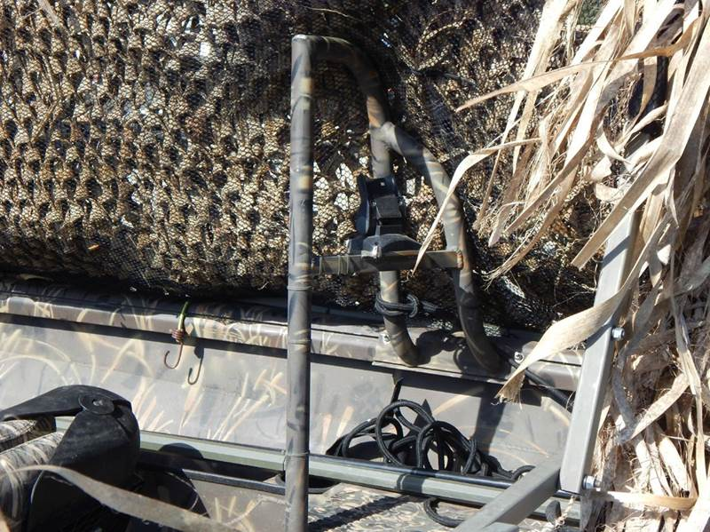2010 Excel Duck Boat 1860 18 Aluminum With Duck Blinds In
