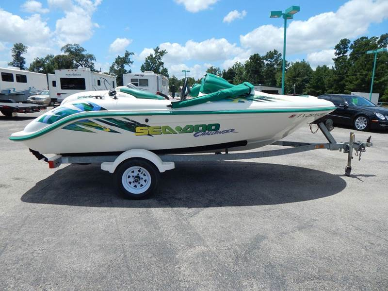 2000 Sea Doo Challenger Twin Engine Jet Boat In Conroe Tx