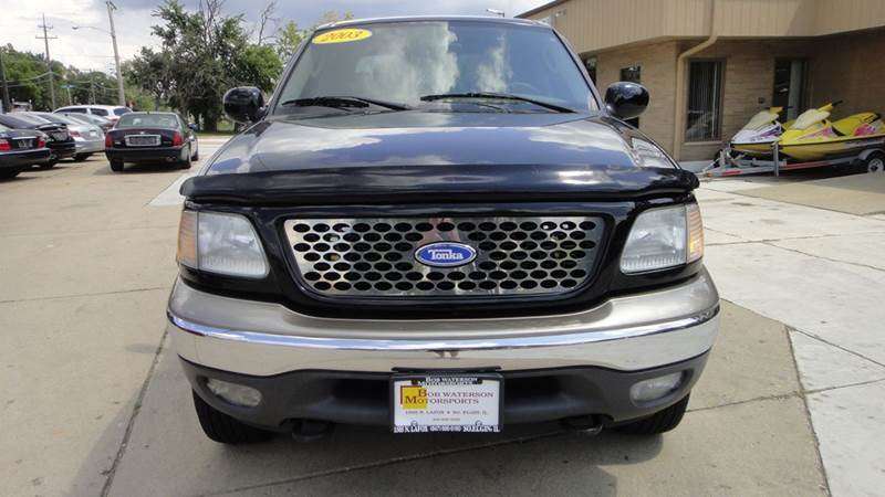 2003 Ford F-150 4dr SuperCrew Lariat 4WD Styleside SB - South Elgin IL