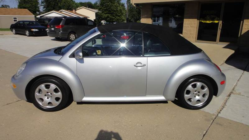 2003 Volkswagen New Beetle GLS 2dr Convertible - South Elgin IL
