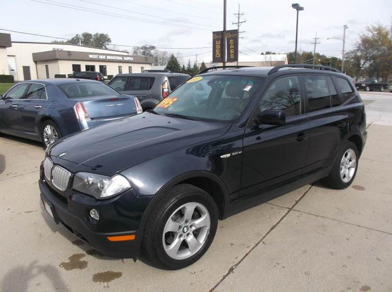 2007 bmw x3 awd 4dr suv in south elgin il bob waterson motorsports. Black Bedroom Furniture Sets. Home Design Ideas