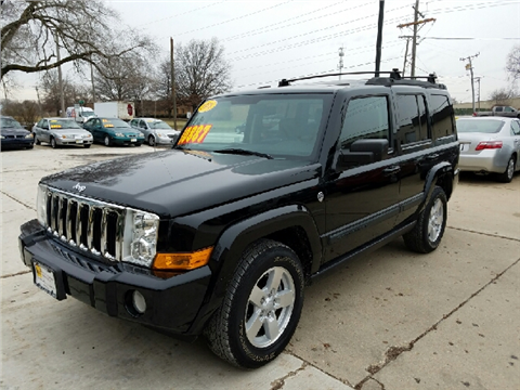 2008 Jeep Commander