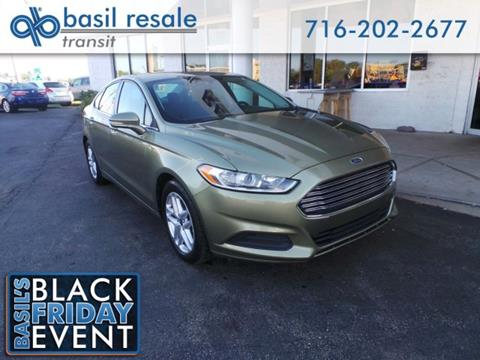 2013 Ford Fusion for sale in Williamsville NY