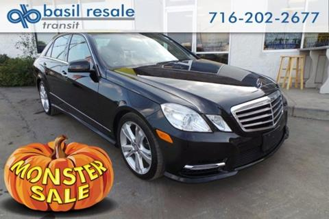 2013 Mercedes-Benz E-Class for sale in Williamsville, NY