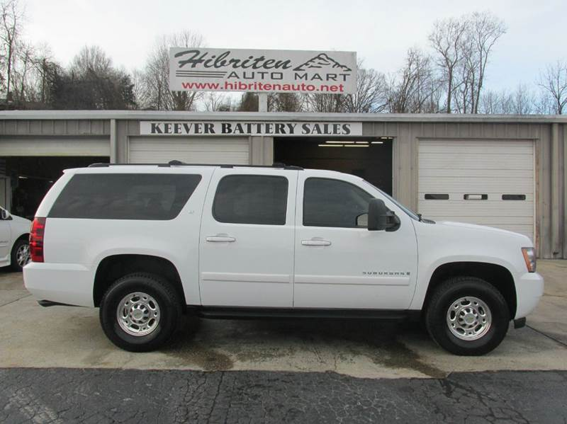 2007 chevrolet suburban lt 2500 4x4 sunroof clean carfax in lenoir nc hibriten auto mart. Black Bedroom Furniture Sets. Home Design Ideas
