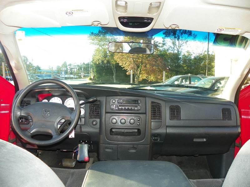 2003 Dodge Ram Pickup 1500 4dr Quad Cab ST Rwd LB - Greensboro NC