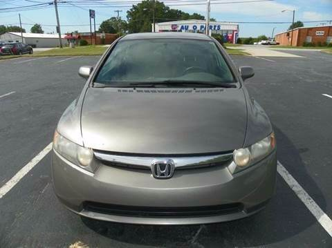 2006 Honda Civic LX 4dr Sedan w/automatic - Greensboro NC