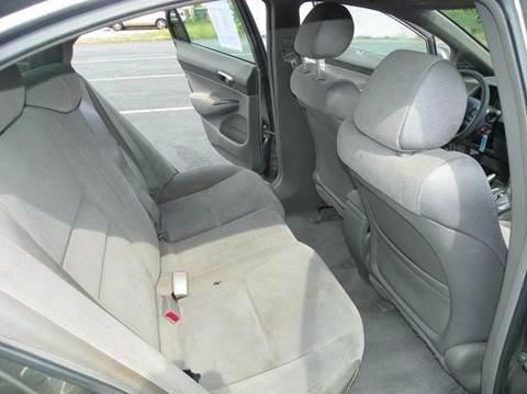 2006 Honda Civic LX 4dr Sedan w/automatic - Greensboro NC