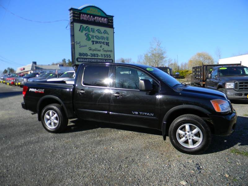 2010 nissan titan 4x4 pro 4x 4dr crew cab swb pickup in plaistow nh megastore auto group. Black Bedroom Furniture Sets. Home Design Ideas