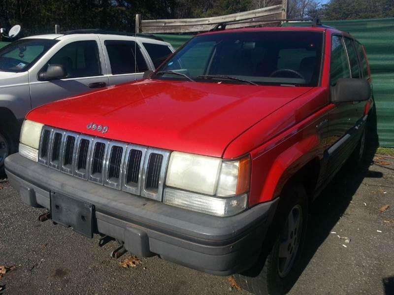 1995 Jeep Grand Cherokee Laredo 4dr 4wd Suv In Newton Nc Speedway Motors