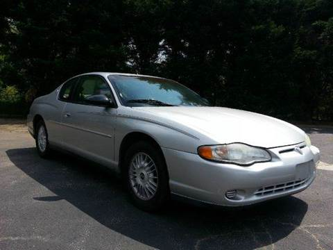2000 Chevrolet Monte Carlo for sale in Newton, NC