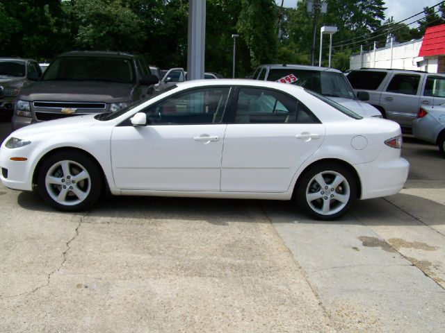 2006 MAZDA 6 S SPORTS SEDAN white abs brakesair conditioningalloy wheelsamfm radioanti-brake