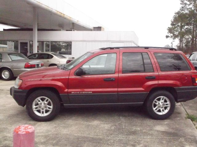 2004 JEEP GRAND CHEROKEE LAREDO 2WD red abs brakesair conditioningalloy wheelsamfm radioanti-