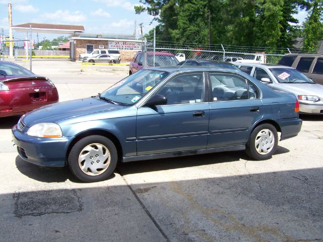 1997 HONDA CIVIC LX SEDAN green air conditioninganti-brake system non-abs  4-wheel absbody sty
