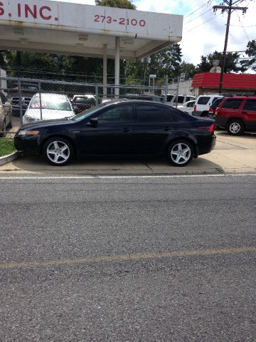 2005 ACURA TL 5-SPEED AT black abs brakesair conditioningalloy wheelsamfm radioanti-brake sys