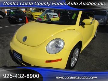 2008 Volkswagen New Beetle for sale in Pittsburg, CA