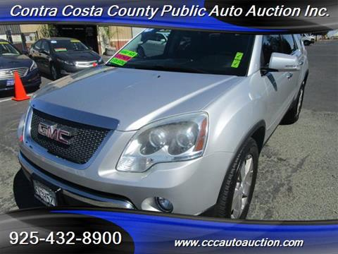 2010 GMC Acadia for sale in Pittsburg, CA