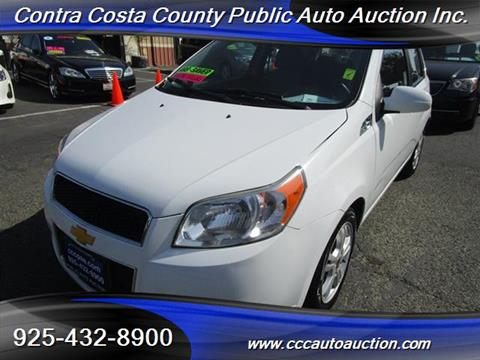 2011 Chevrolet Aveo for sale in Pittsburg, CA