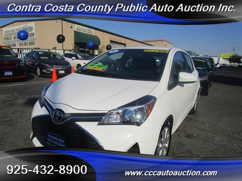 2016 Toyota Yaris for sale in Pittsburg, CA