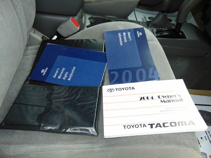 2004 Toyota Tacoma V6 4dr Double Cab 4WD SB - Hudson NC