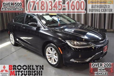 2015 Chrysler 200 for sale in Brooklyn, NY