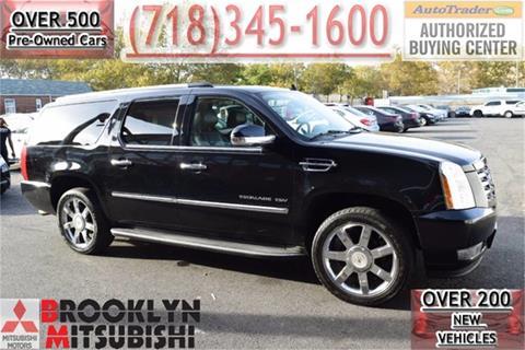 2011 Cadillac Escalade ESV for sale in Brooklyn, NY