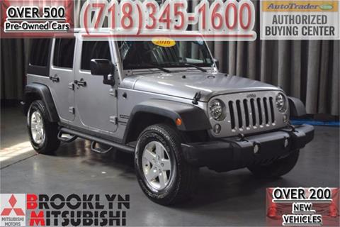 2016 Jeep Wrangler Unlimited for sale in Brooklyn, NY