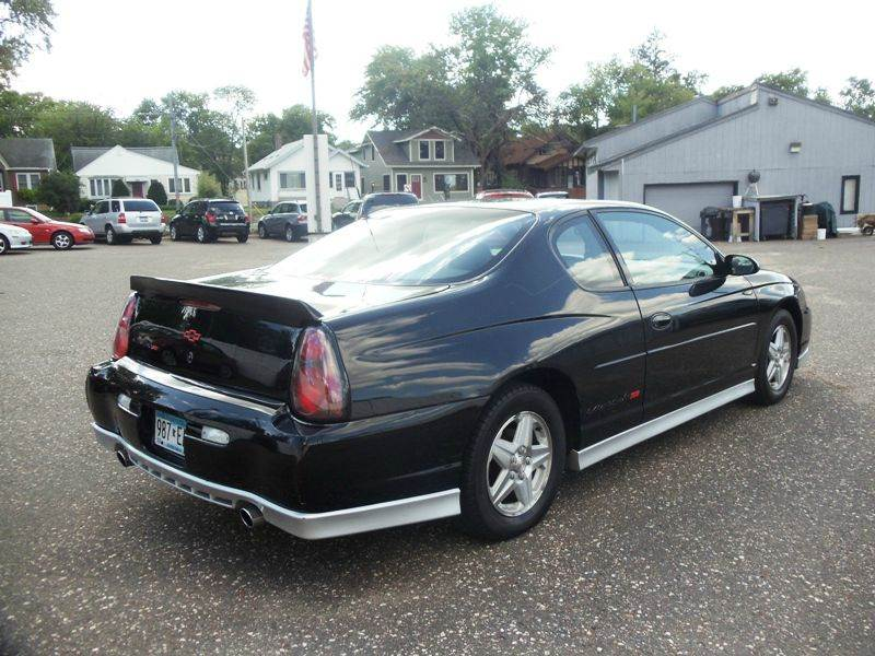2002 Chevrolet Monte Carlo Ss 2dr Coupe In Minneapolis Mn