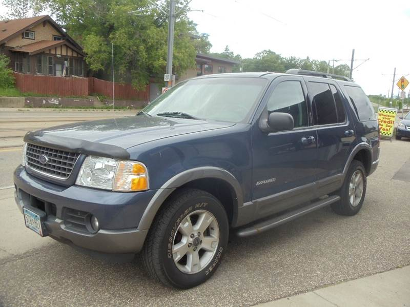 2002 ford explorer 4dr xlt 4wd suv in minneapolis mn for Metro motor sales minneapolis mn