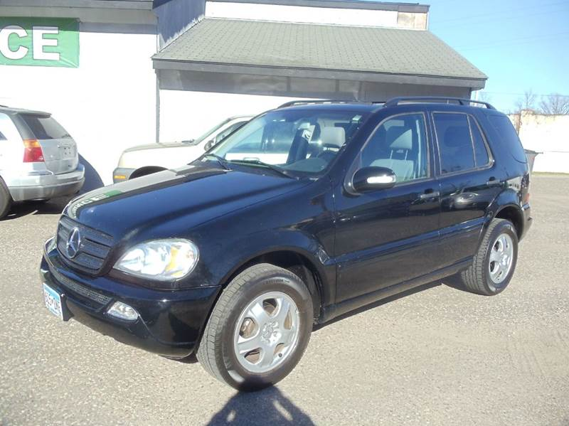 2003 mercedes benz m class awd ml350 4matic 4dr suv in for Metro motor sales minneapolis mn