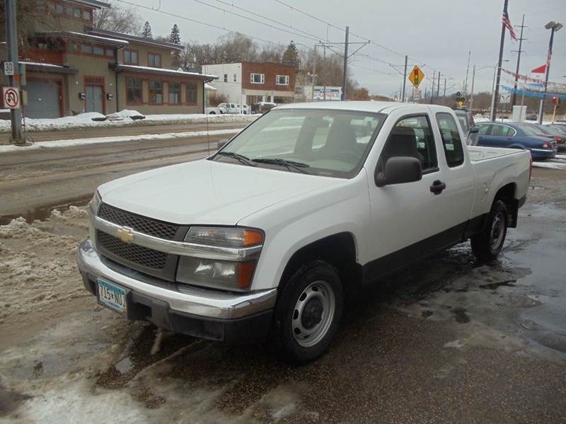 2008 chevrolet colorado 4x2 work truck extended cab 4dr in minneapolis mn metro motor sales. Black Bedroom Furniture Sets. Home Design Ideas