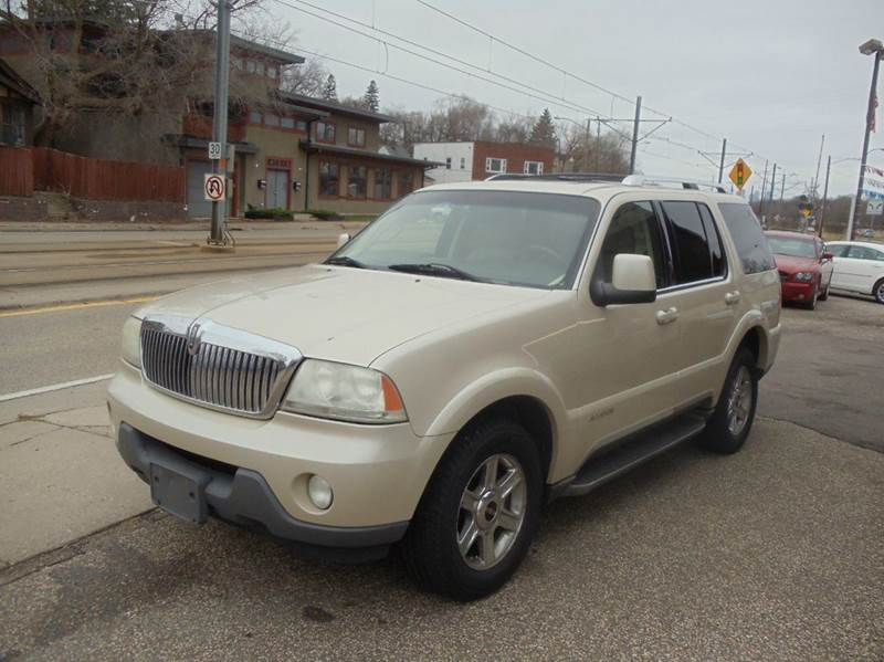 2005 lincoln aviator awd luxury 4dr suv in minneapolis mn