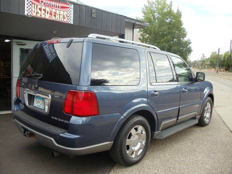 2003 Lincoln Navigator Luxury 4wd 4dr Suv In Minneapolis