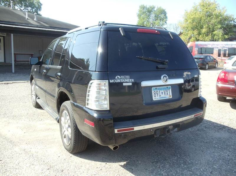 2007 mercury mountaineer awd premier 4dr suv v6 in for Metro motor sales minneapolis mn