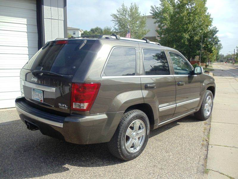 2006 jeep grand cherokee overland 4dr suv 4wd in minneapolis mn metro motor sales. Black Bedroom Furniture Sets. Home Design Ideas