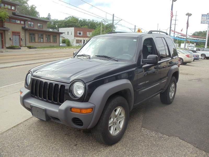 2003 jeep liberty 4dr sport 4wd suv in minneapolis mn for Metro motor sales minneapolis mn