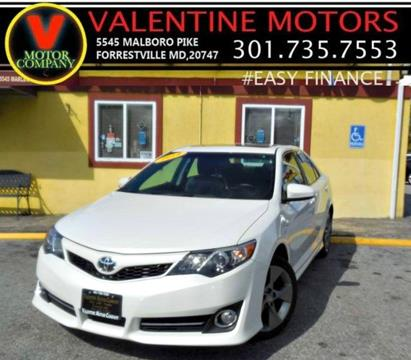 2014 Toyota Camry for sale in District Heights, MD