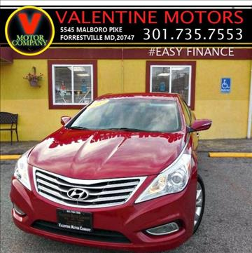 2013 Hyundai Azera for sale in District Heights, MD