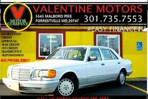 1990 Mercedes-Benz 420-Class for sale in District Heights, MD