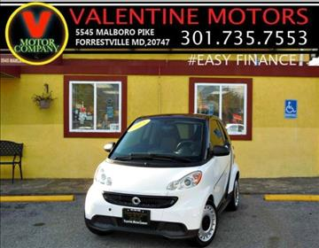2015 Smart fortwo for sale in District Heights, MD