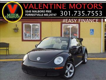 2008 Volkswagen New Beetle for sale in District Heights, MD