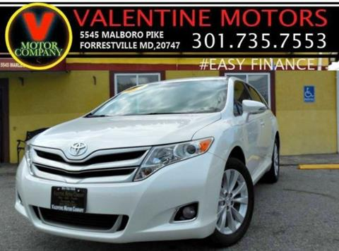 2013 Toyota Venza for sale in District Heights, MD